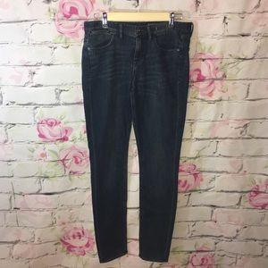 Madewell Women's Skinny Skinny Blue Jeans 29 x 32